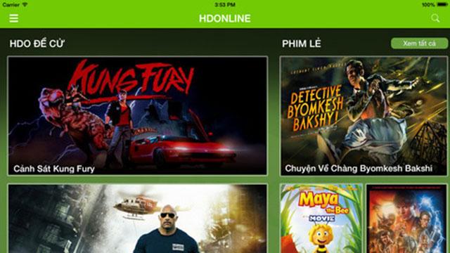 Tải ứng dụng HDOnline để xem phim HD trên iOS và Android Hdonline