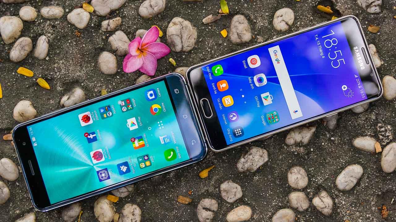 zenfone3vsgalaxya52016. Ngoại hình của Galaxy A5 2016 ...