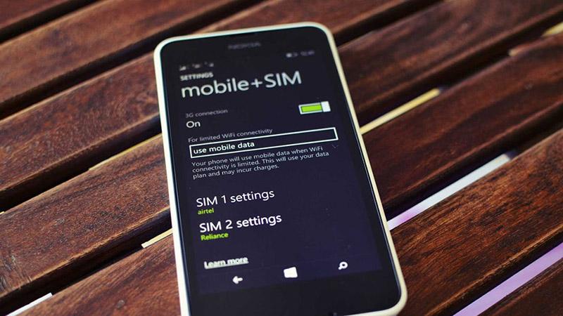 Quản lý Dual SIM trên Windows Phone tốt hơn với ứng dụng mới