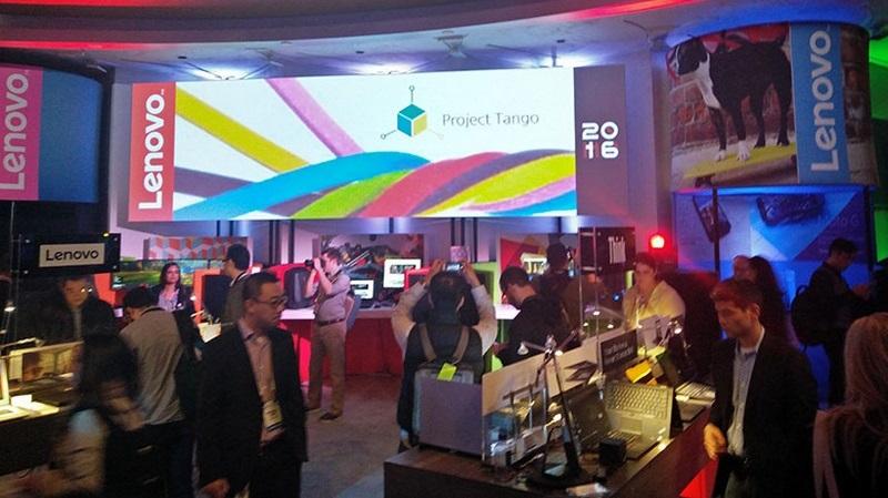 Smartphone đầu tiên của dự án Google Project Tango sẽ là Lenovo Phab 2 Pro