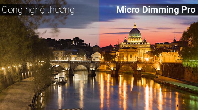 Công nghệ Micro Dimming Pro trên tivi Samsung