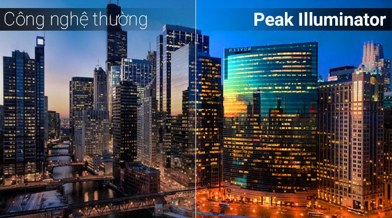 Công nghệ Peak Illuminator trên tivi Samsung