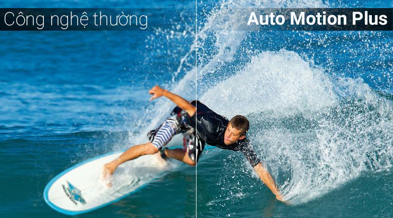 Công nghệ Auto Motion Plus trên tivi Samsung