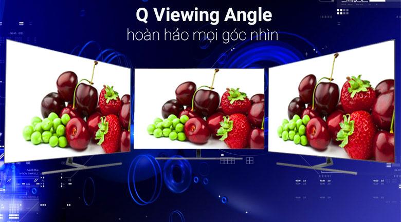 Công nghệ Q Viewing Angle trên tivi Samsung