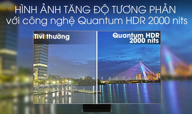 Q HDR 2000 Nits
