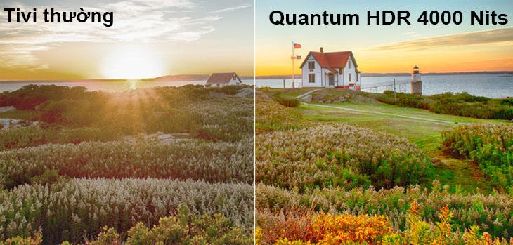 Quantum HDR 4000 Nits