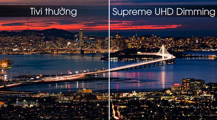 Supreme UHD Dimming cho hình ảnh chi tiết chất lượng