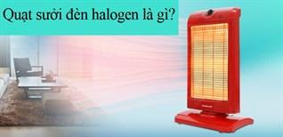 Quạt sưởi đèn halogen là gì?