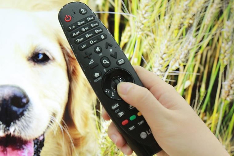 Remote thông minh kết nối với tivi qua Bluetooth