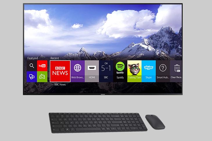 Kết nối chuột, bàn phím Bluetooth để điều khiển tivi dễ hơn