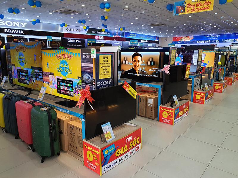 Siêu thị Điện máy Xanh 102 Lê Văn Khương, Quận 12, TP. HCM