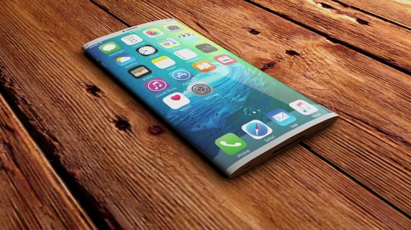 iPhone 8 với kính cong phủ tràn mặt trước là có thật?