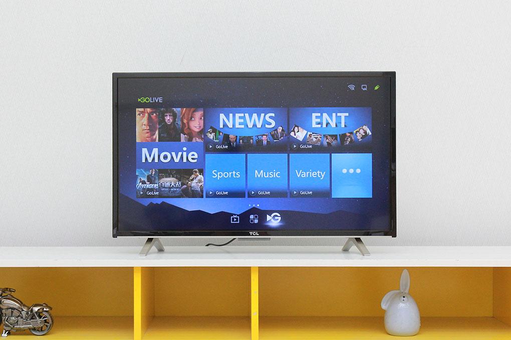 Tivi D2790 với thiết kế đơn giản, hiện đại