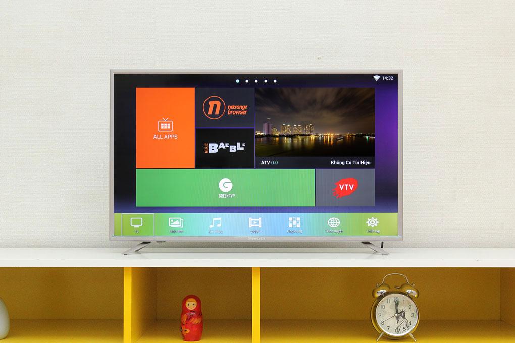 Smart tivi giá rẻ của Skyworth