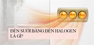 Đèn sưởi halogen là gì? Có nên mua hay không?