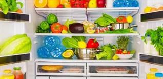 Thời gian bảo quản các loại thực phẩm phổ biến trong tủ lạnh