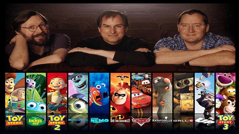 Pixar Animation Studios - Một di sản vĩ đại khác của Steve Jobs
