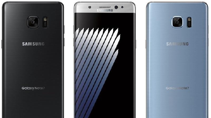 Galaxy Note 7 đây rồi, có một màu rất lạ, nhìn là yêu ngay
