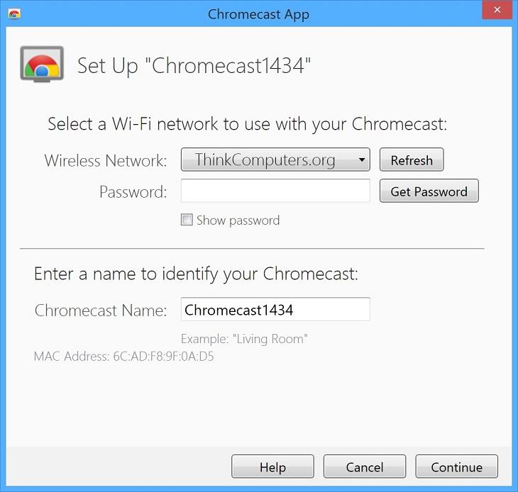 Bạn đã setup thành công Chromecast