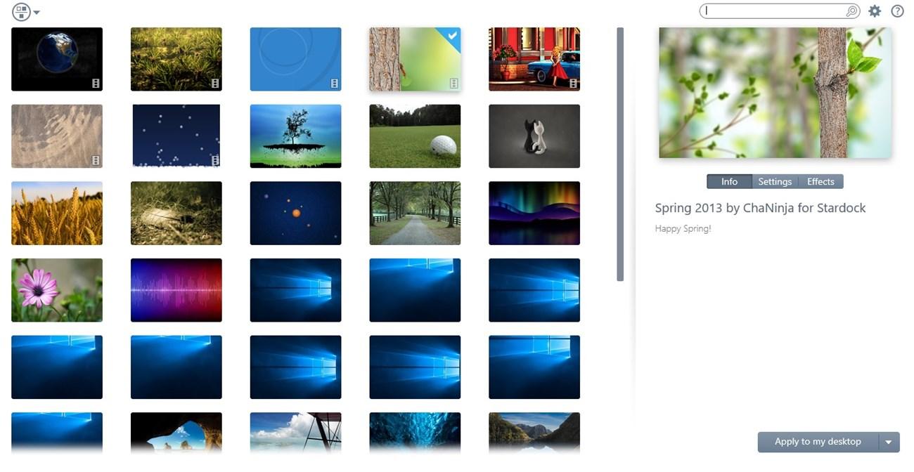 DeskScapes 8 là ứng dụng cho phép bạn thay thế ảnh nền nhàm chán, đơn lẻ trên máy tính bằng hình ảnh động sinh động và vô cùng cá tính.