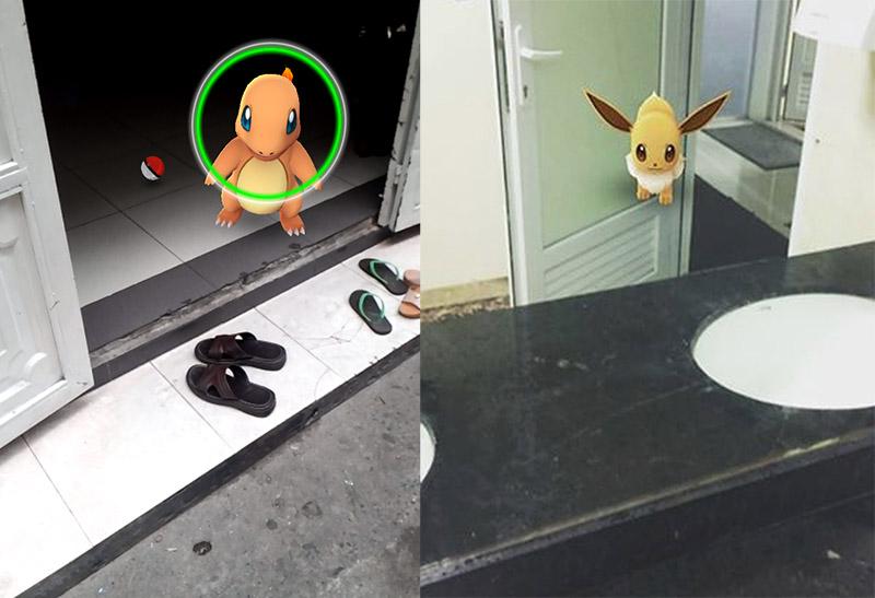 Pokémon ở mọi nơi