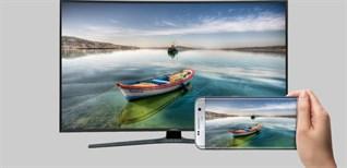 5 cách kết nối điện thoại Android với tivi Samsung