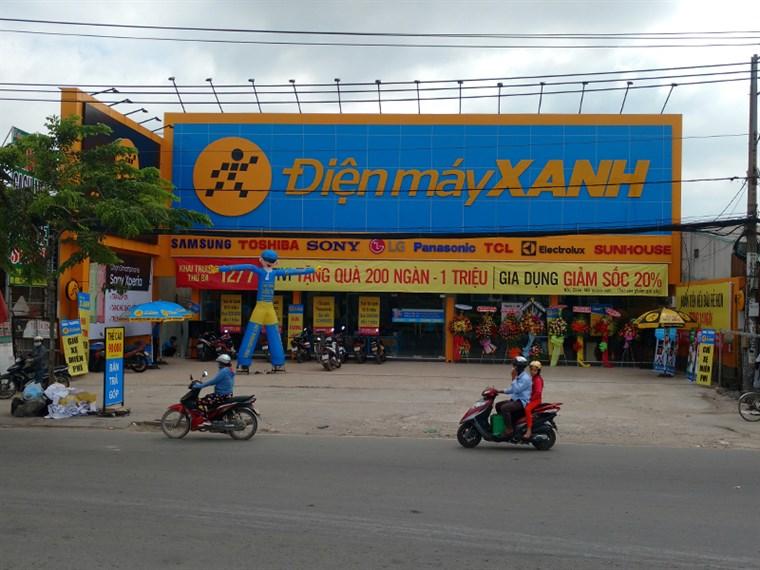 Siêu thị điện máy xanh tại Số 1826A Tỉnh Lộ 10, khu phố 1, P. Tân Tạo, Q. Bình Tân, TP. HCM
