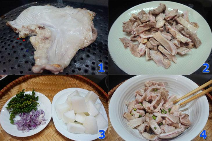 Rửa bao tử với 1 ít muối và giấm sẽ giúp khử mùi cho bao tử