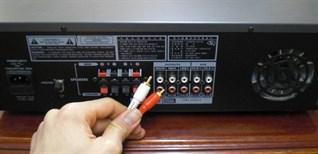 3 cách kết nối tivi với amply