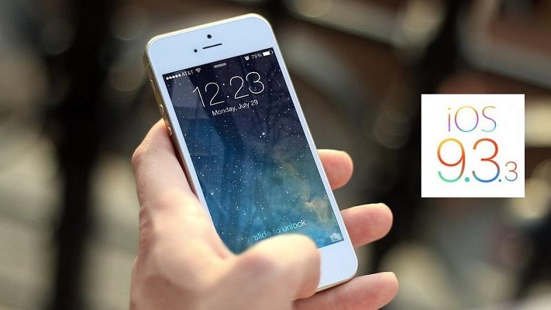 Dân mạng nói gì về bản iOS 9.3.3 vừa phát hành?