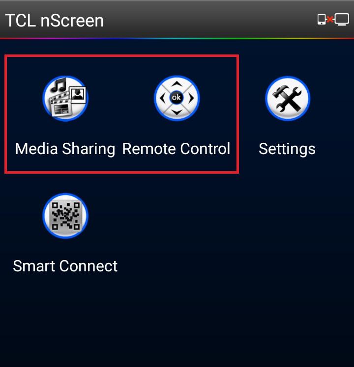 2 tính năng Media Sharing và Remote Control