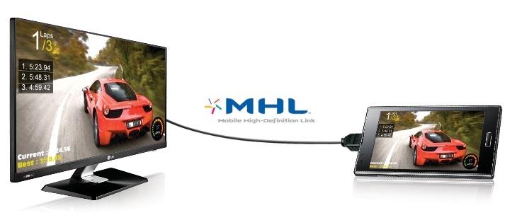 Kết nối điện thoại với tivi LG