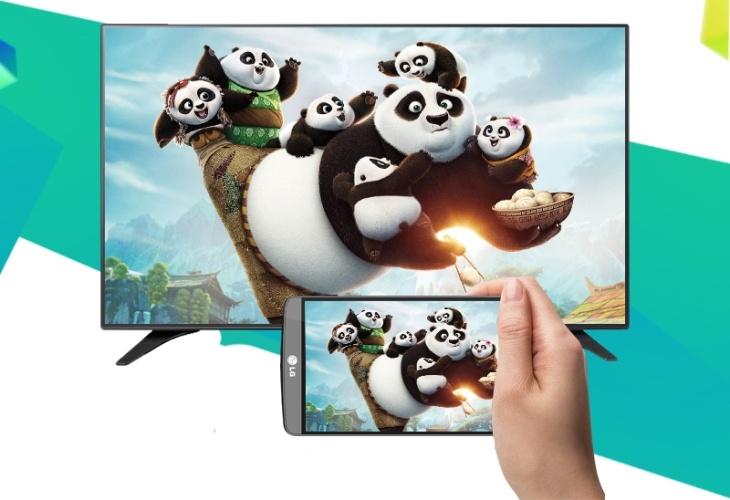 Kết nối điện thoại với tivi LG bằng DLNA