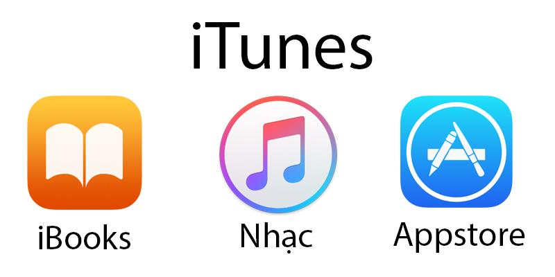 Phân biệt tài khoản iCloud và iTunes