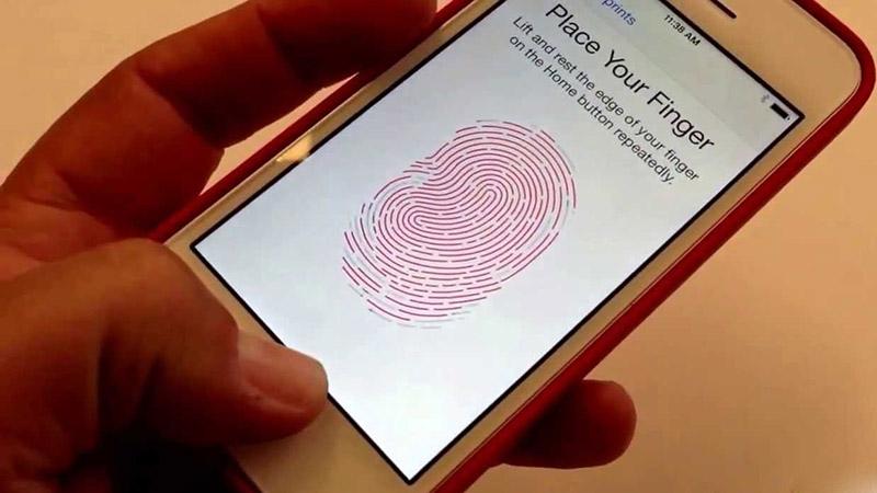 Kết quả hình ảnh cho iphone lỗi vân tay