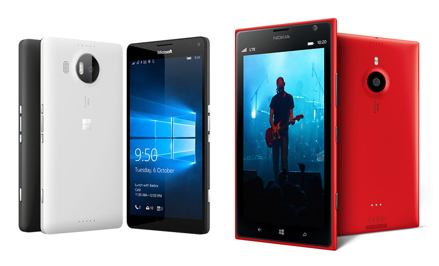 So sánh Lumia 950XL và Lumia 1520