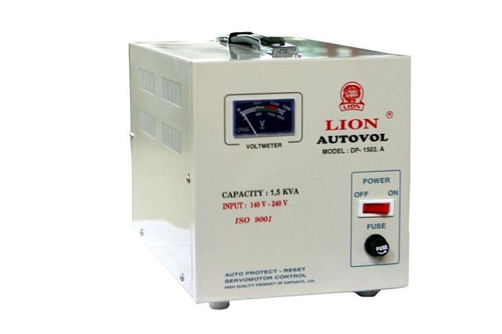 Dùng ổn áp cho nguồn điện không ổn định