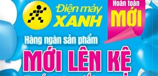 Khai trương siêu thị Điện máy XANH Hồng Ngự, Đồng Tháp