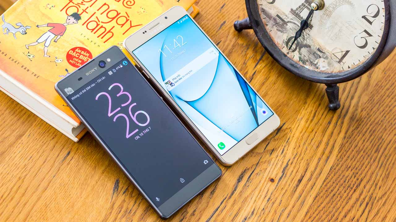 Galaxy A9 Pro - Xperia XA Ultra