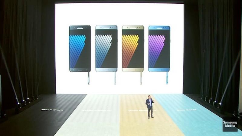 Siêu phẩm Galaxy Note 7 chính thức ra mắt, không thể hoàn hảo hơn!