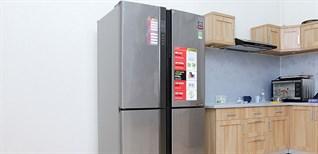 Hướng dẫn sử dụng bảng điều khiển tủ lạnh Sharp SJ-FX630V-ST