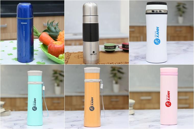 Màu sắc bình giữ nhiệt đa dạng, nhiều lựa chọn hấp dẫn cho người mua