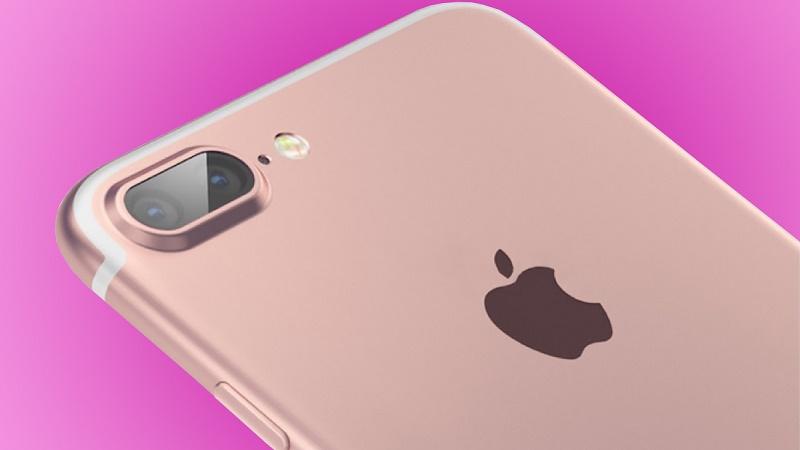 iPhone 7 Plus camera kép, màu hồng vàng xuất hiện trên tay người dùng
