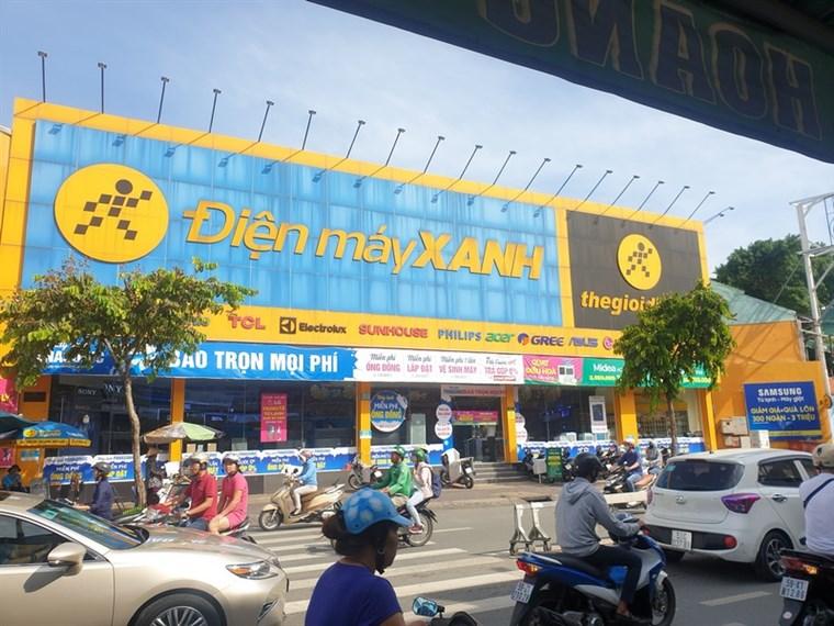 Siêu thị điện máy xanh tại Số 500-502 Dương Bá Trạc, Phường 1, Quận 8, TP. HCM