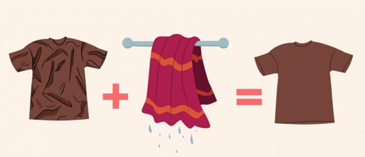 9 cách làm phẳng quần áo không cần bàn là