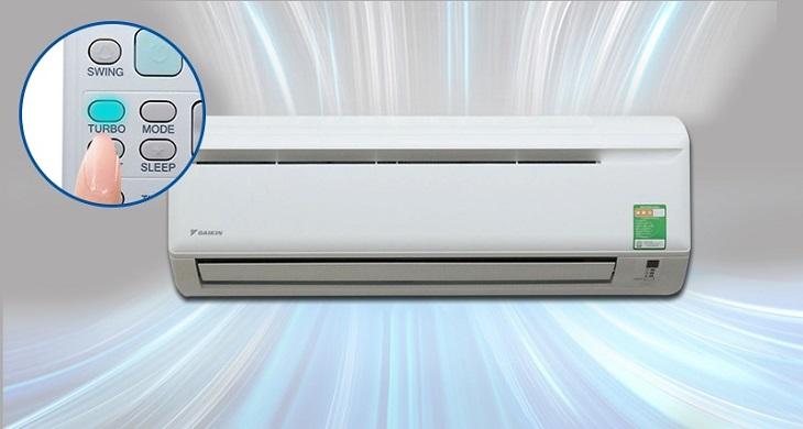 Dòng điều hòa Daikin không Inverter sở hữu khả năng làm lạnh nhanh