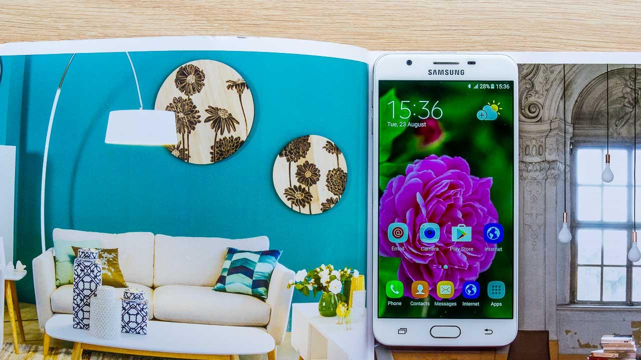 Màn hình TFT trên Galaxy J7 Prime là loại màn hình công nghệ mới