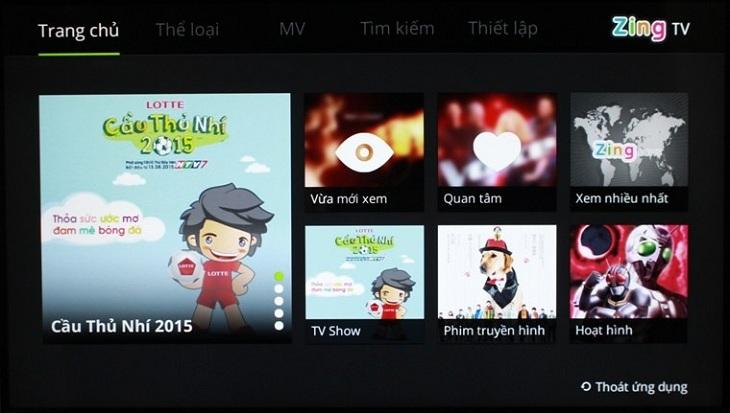 Thỏa sức xem phim online với ứng dụng Zing TV