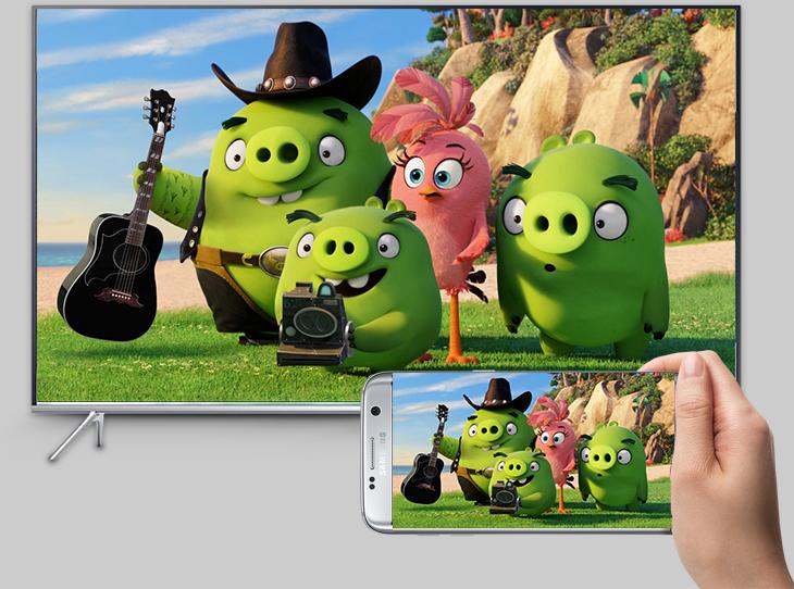 Kết nối điện thoại với tivi thông qua tính năng phản chiếu hình ảnh