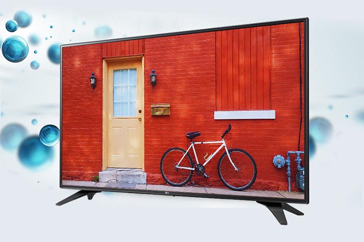 Smart tivi LG thường có chân đế kiên cố hơn